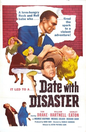 Date with Disaster - Movie Poster (thumbnail)