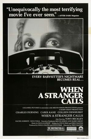 When a Stranger Calls - Movie Poster (thumbnail)
