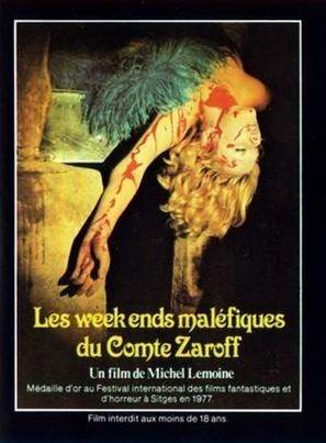 Les week-ends maléfiques du Comte Zaroff - French Movie Poster (thumbnail)