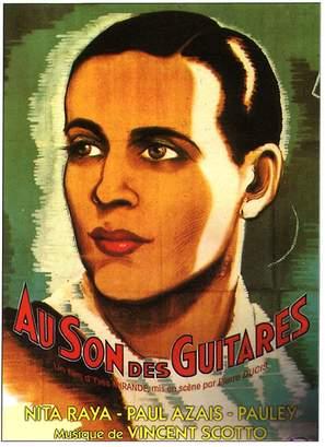 Au son des guitares - French Movie Poster (thumbnail)