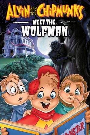 Alvin and the Chipmunks Meet the Wolfman - DVD movie cover (thumbnail)