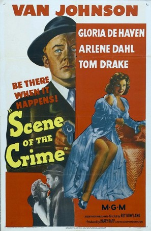 Scene of the Crime - Movie Poster (thumbnail)