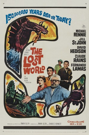 The Lost World - Theatrical movie poster (thumbnail)
