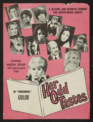 Her Odd Tastes (1969) movie posters