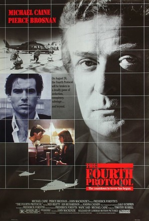 The Fourth Protocol - Movie Poster (thumbnail)