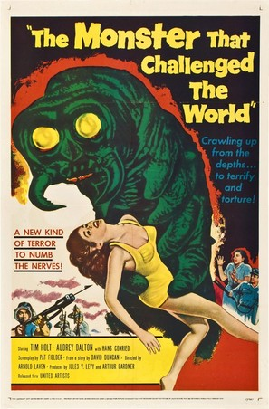 The Monster That Challenged the World - Movie Poster (thumbnail)