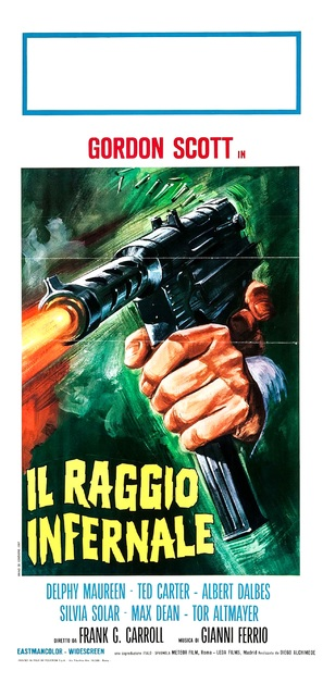 Raggio infernale, Il - Italian Movie Poster (thumbnail)