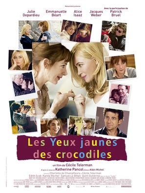 Les yeux jaunes des crocodiles - French Movie Poster (thumbnail)