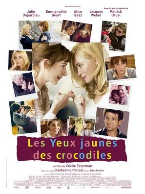 Les yeux jaunes des crocodiles - French Movie Poster (thumbnail)