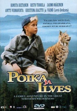 Poika ja ilves - Finnish DVD cover (thumbnail)