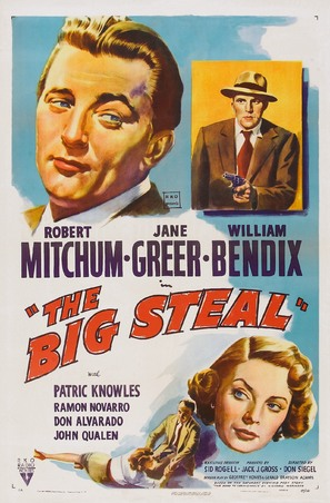 The Big Steal - Movie Poster (thumbnail)