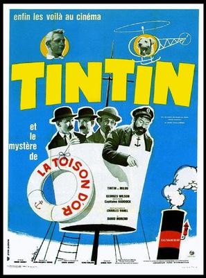 Tintin et le mystère de la toison d'or - French Movie Poster (thumbnail)