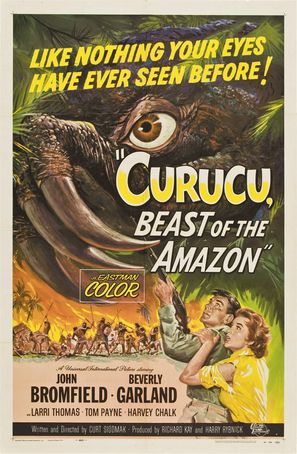 Curucu, Beast of the Amazon - Movie Poster (thumbnail)