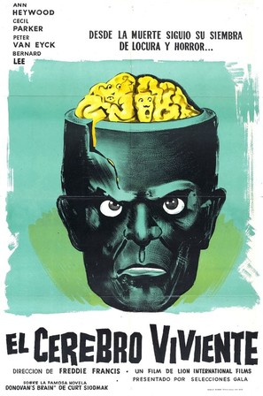 The Brain - Argentinian Movie Poster (thumbnail)