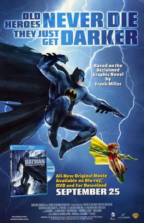 Batman: The Dark Knight Returns, Part 1 - Video release poster (thumbnail)