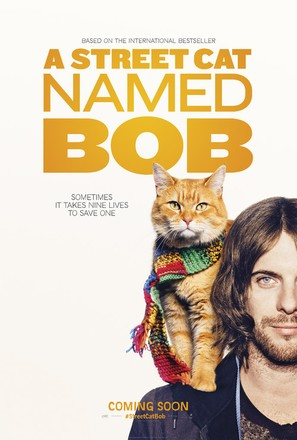 A Street Cat Named Bob - British Teaser movie poster (thumbnail)