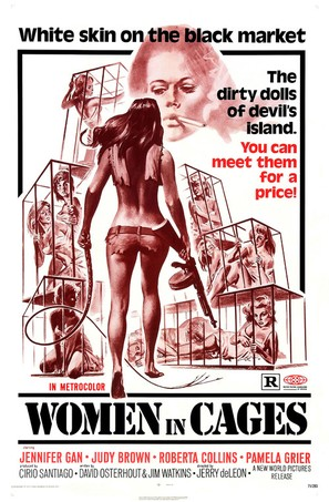 Women in Cages - Movie Poster (thumbnail)