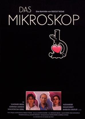 Das Mikroskop - German Movie Poster (thumbnail)