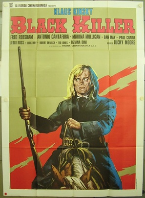 Black Killer - Italian Movie Poster (thumbnail)