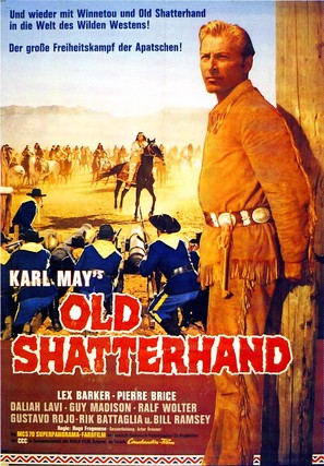 Old Shatterhand - German Movie Poster (thumbnail)