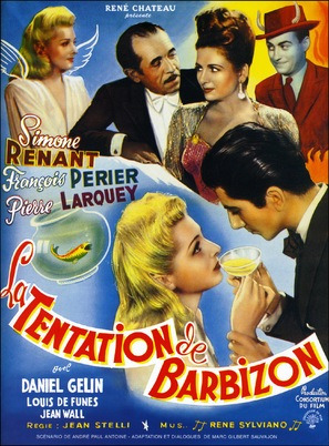 Tentation de Barbizon, La - French Movie Poster (thumbnail)