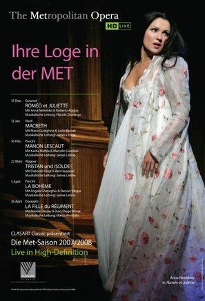 """Metropolitan Opera: Live in HD"" - German Movie Poster (thumbnail)"