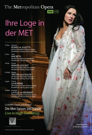 """Metropolitan Opera: Live in HD"" - German Movie Poster (thumbnail)"
