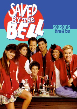 """""""Saved by the Bell"""" - DVD movie cover (thumbnail)"""