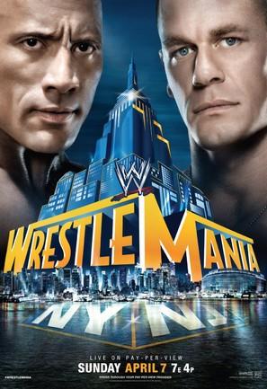 WWE WrestleMania XXIX - Movie Poster (thumbnail)