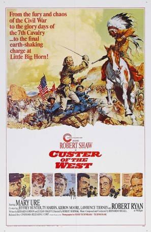 Custer of the West - Movie Poster (thumbnail)