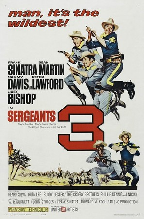 Sergeants 3 - Movie Poster (thumbnail)