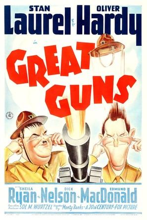 Great Guns - Movie Poster (thumbnail)
