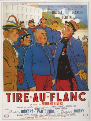 Tire au flanc - Italian Movie Poster (thumbnail)