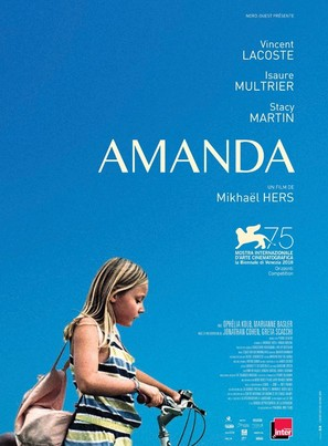 Amanda - French Movie Poster (thumbnail)