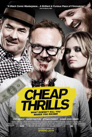 Cheap Thrills - Movie Poster (thumbnail)