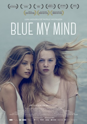 Blue My Mind - Swiss Movie Poster (thumbnail)