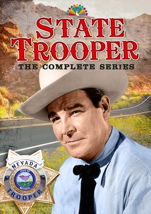 """""""State Trooper"""" - DVD movie cover (thumbnail)"""