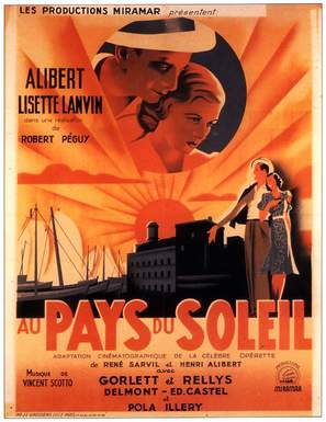 Au pays du soleil - French Movie Poster (thumbnail)