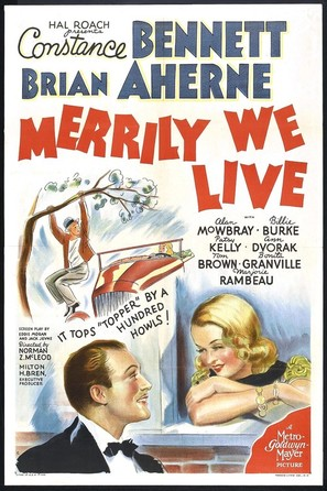 Merrily We Live - Movie Poster (thumbnail)