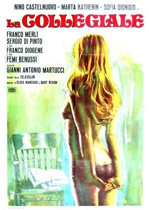 La collegiale - Italian Movie Poster (thumbnail)