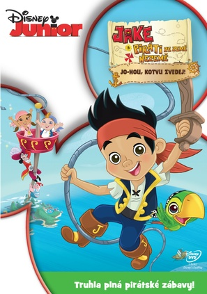 """""""Jake and the Never Land Pirates"""" - Czech DVD movie cover (thumbnail)"""