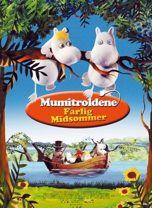 Muumi ja vaarallinen juhannus - Danish Movie Poster (thumbnail)
