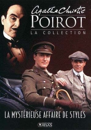 """Poirot"" The Mysterious Affair at Styles - French poster (thumbnail)"