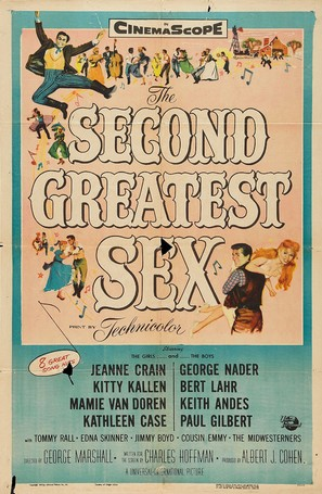 The Second Greatest Sex - Movie Poster (thumbnail)