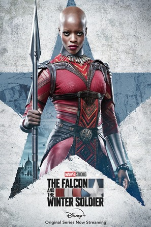"""""""The Falcon and the Winter Soldier"""" - Movie Poster (thumbnail)"""