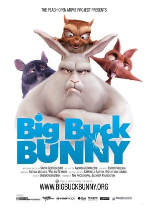 Big Buck Bunny - Dutch Movie Poster (thumbnail)