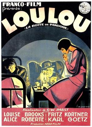 Die Büchse der Pandora - French Movie Poster (thumbnail)
