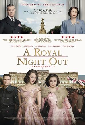 A Royal Night Out - British Movie Poster (thumbnail)