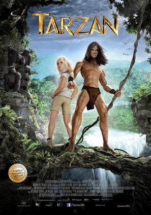 Tarzan - German Movie Poster (thumbnail)