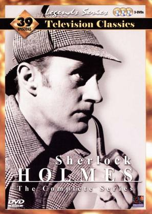 """Sherlock Holmes"" - DVD cover (thumbnail)"